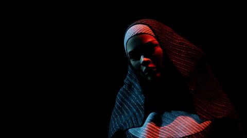 young nun in the dark ビデオ