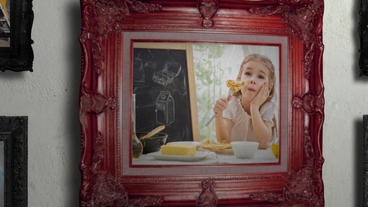 Antique Photo Gallery After Effects Project