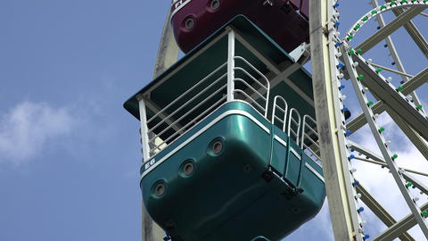 Amusement Park Ferris Wheel Live Action