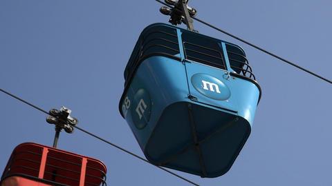 Theme Park Cable Car Live Action