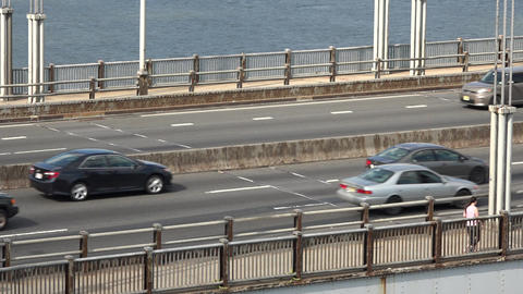 Upper Deck Bridge Traffic Footage