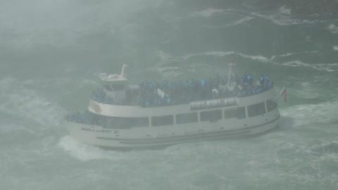 Ferry Boat on River Live Action