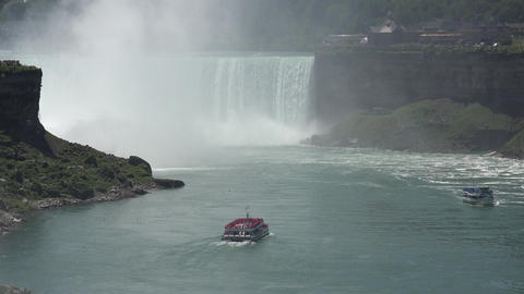 Niagara Falls and Niagara River Footage