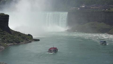 Niagara Falls and Niagara River Footage