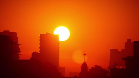 London England Sunrise Archivo