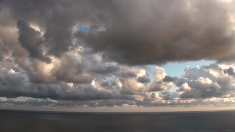 Epic Stormy Timelapse Clouds Natural Footage