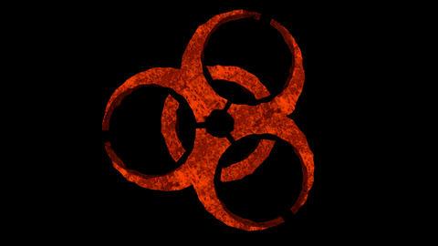 Biohazard / Toxic Logo Animation