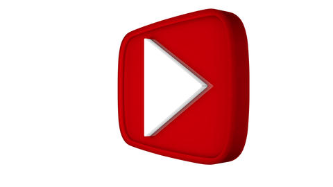 Youtube spin play button Animation