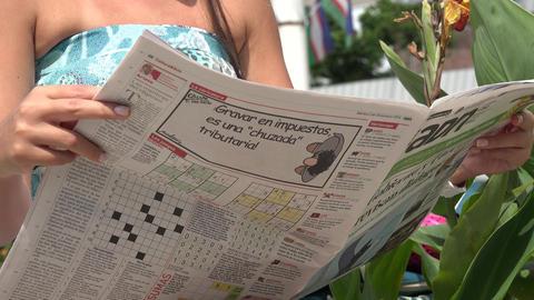 Magazine, Periodical, Jounal Footage