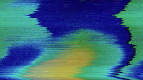 Casual dynamic sci-fi psychedelic holographic background. Screensaver video Live Action