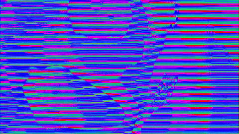 Abstract rainbow vivid glowing background, conceptual 80s feel. Glitch art Footage