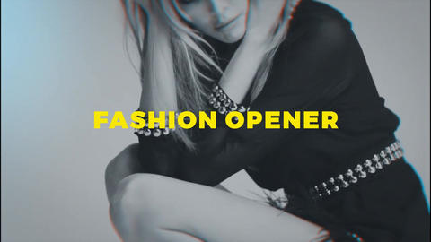 Fashion Promo - Fashion Opener After Effects Template
