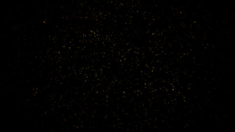 Flickering Particles, random motion of particles.On beatiful relaxing Background Footage