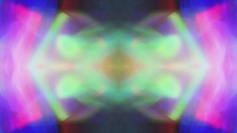 Mirrored Digital psychedelic futuristic futuristic iridescent background Live Action