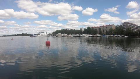 フィンランドの広い海の風景 ビデオ
