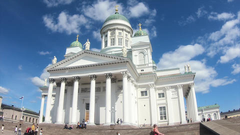 Helsinki Cathedral landscape Finland Archivo