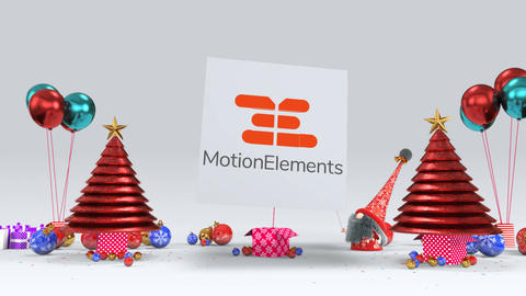 Christmas Gnome Ident 1 Plantilla de After Effects