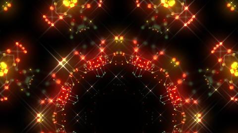 [alt video] Kaleidoscope illumination neon Ch2 red yellow2 4k