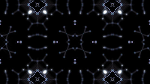 Kaleidoscope illumination neon Bv2 neon black 4k Animation