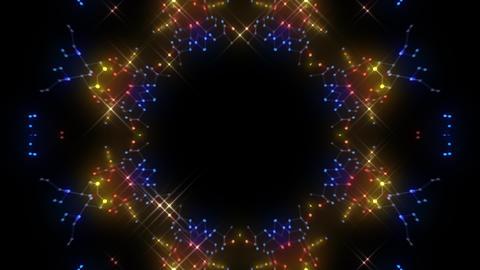 [alt video] Kaleidoscope illumination neon Cv2 red blue1 4k