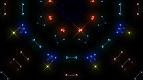 [alt video] Kaleidoscope illumination neon Dh2 red blue3 4k
