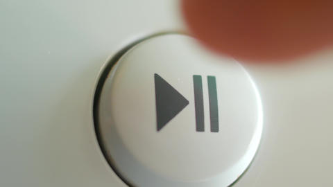 Press the play pause button on the device Footage