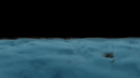 Ground Smoke Fog loop blue dream Animation