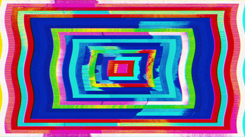 Surreal colorful neon glowing background, futuristic kaleidoscope Footage