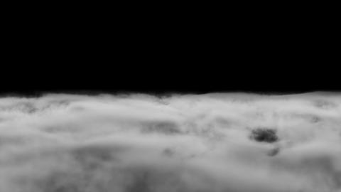 Ground Smoke Fog loop white Animation