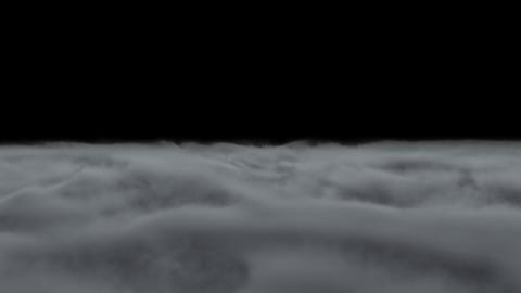 Ground Smoke Fog loop Animation