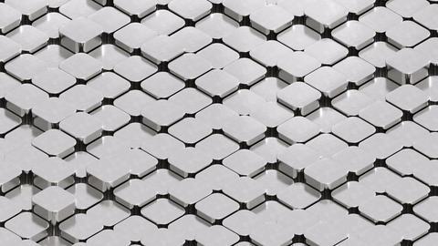Isometric Sliding Silver Ingots CG動画