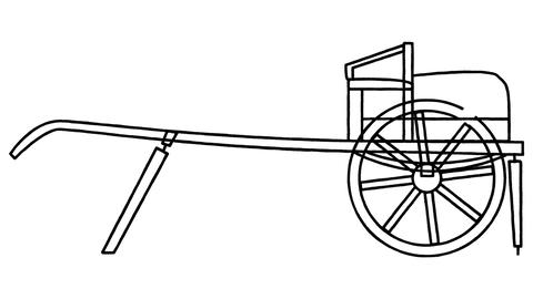 An animated drawing of a cart in the style of Leonardo da Vinci Videos animados