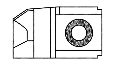 An animated drawing of a machine in the style of Leonardo da Vinci CG動画