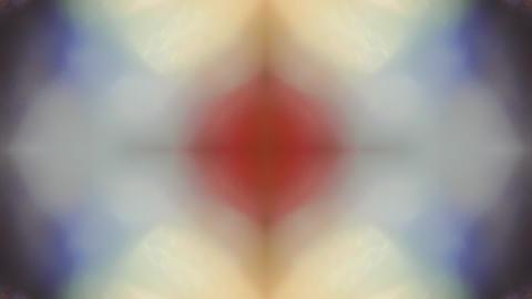 Fantastic natural light metamorphoses. Trendy saturated glare, light mixture Live Action
