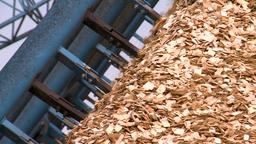 Production and drying of wood chips Paper production Live Action