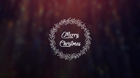 Christmas Wreath After Effects Template