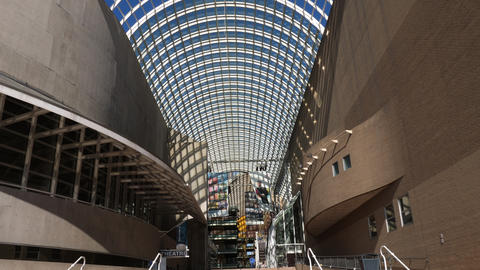 Denver Center for the Performing Arts Atrium Walking In GIF