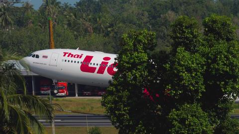 Airplane Airbus 330 departure GIF