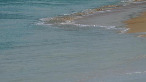 Azure waves rolled shore of Nai Harn Beach GIF