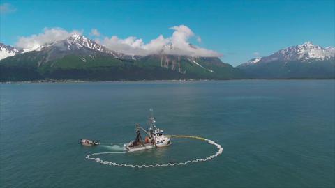 Salmon fishing フォト