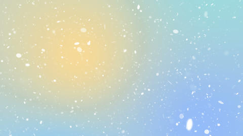 Particles pastel color business clean bright glitter bokeh dust abstract background loop CG動画