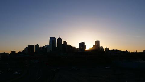 Denver Colorado Sunrise Timelapse Wide GIF