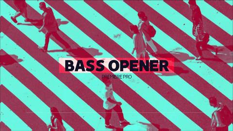 Stylish Bass Opener Plantillas de Premiere Pro