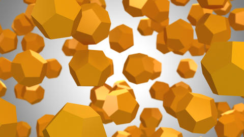 Background of Dodecahedrons CG動画