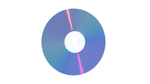 DVD Disk Rotation Animation Animation