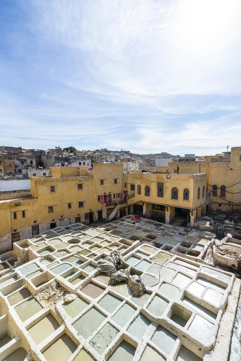 Chouara Tannery in Fes フォト