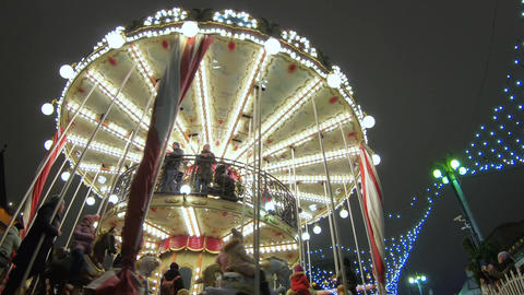 French carousel on Revolution Square Archivo