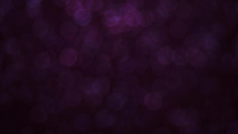 Subtle Rotating Purple Sparkling Bokeh Overlay Animation