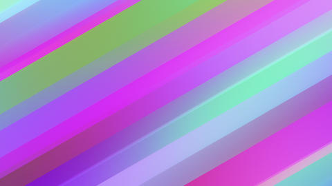 Multicolored Gradient Diagonal Lines CG動画