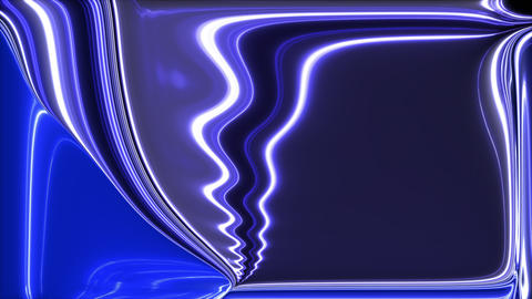 Random plasma displacement. Computer generated abstract background. 3d rendering ビデオ